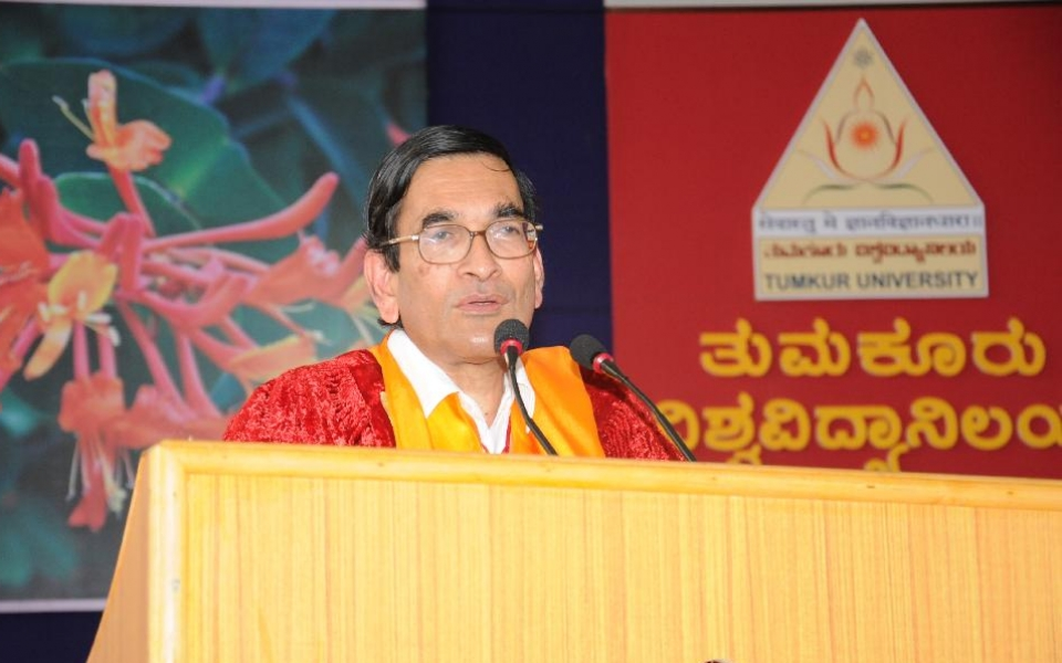 7th Annual Convocation Address by Prof. P.Balaram, Director, Indian Institute of Science, Bangalore, on 12 Jan, 2014
