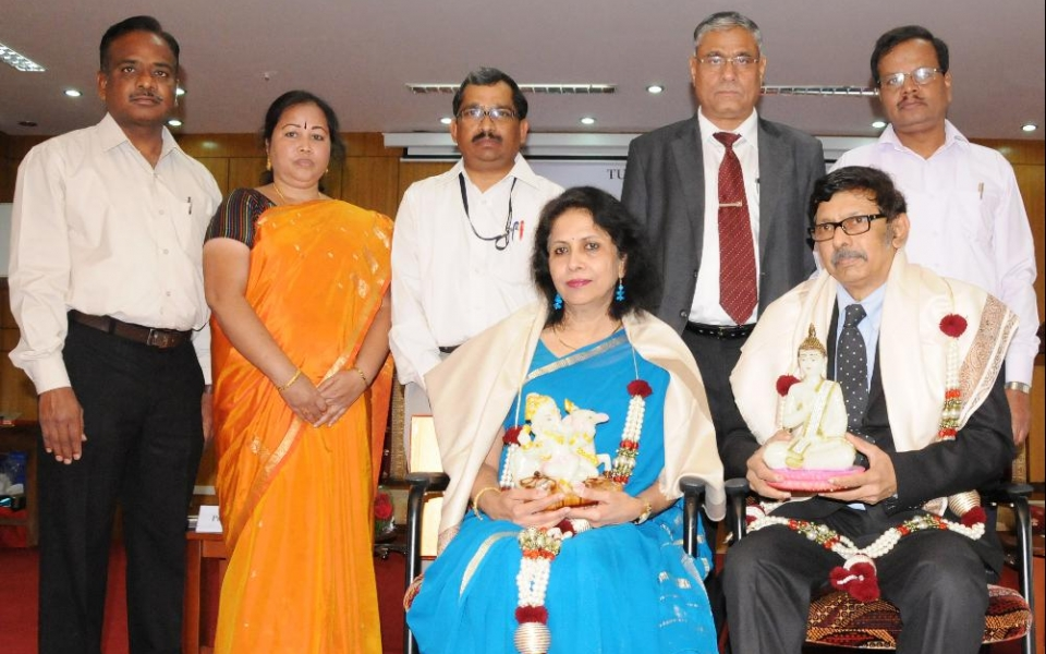 Inauguration of Special Lecture Series and Felicitation of Dr. A Surya Prakash, Hon'ble Chairman, Prasar Bharathi, Govt. of India and Smt. Pushpa Girimaji, Author & Consumer Rights Activist, Journalist