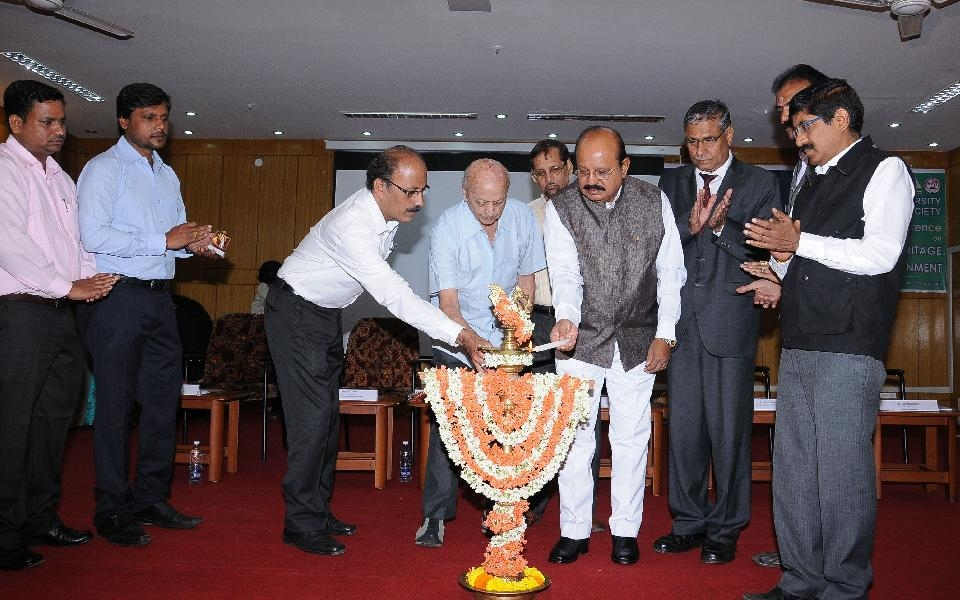 Inauguration of National Conference on Impact of Aerosols on Health, Heritage and Environment held on 28 Sep 2015
